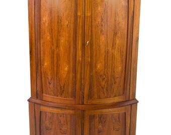 Ultimate Mid Century Danish Modern Rosewood Corner Cabinet