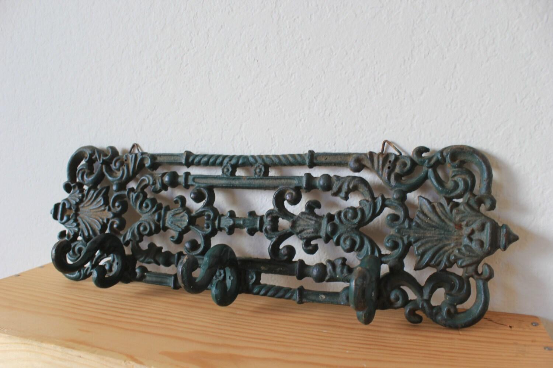 Vintage Cast Iron Decorative Wall Hooks Display Haute Juice