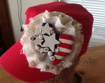 Shabby Chic Cadet Hat