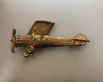 1927 Spirit of St. Louis Souvenir Pin