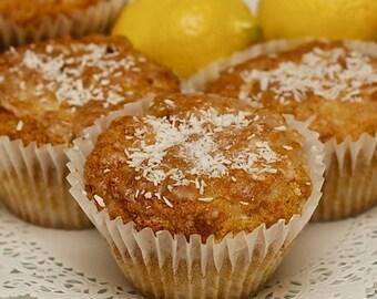 Paleo Lemon Coconut Muffins