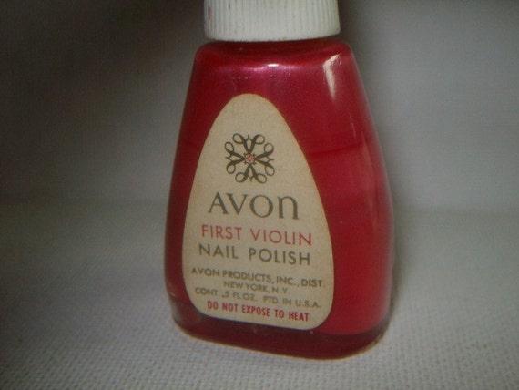 Vintage nail polish bottles