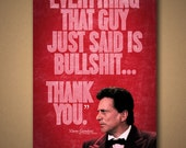 "MY COUSIN VINNY ""Thank You"" Quote Poster"