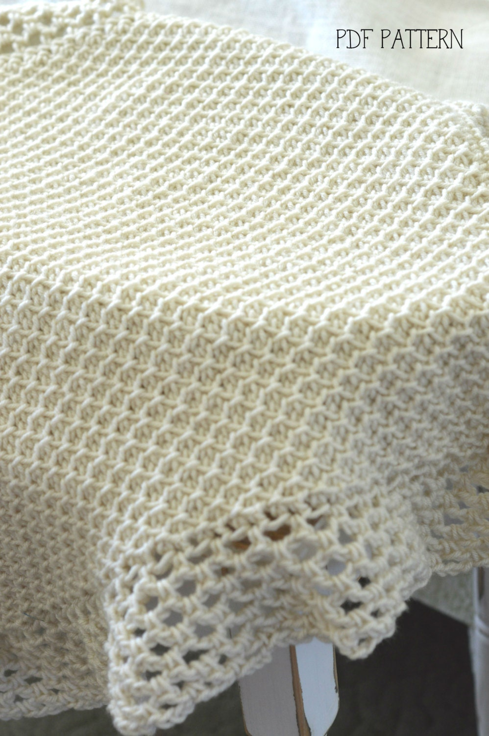 Free Tunisian Crochet Patterns For Baby Blankets