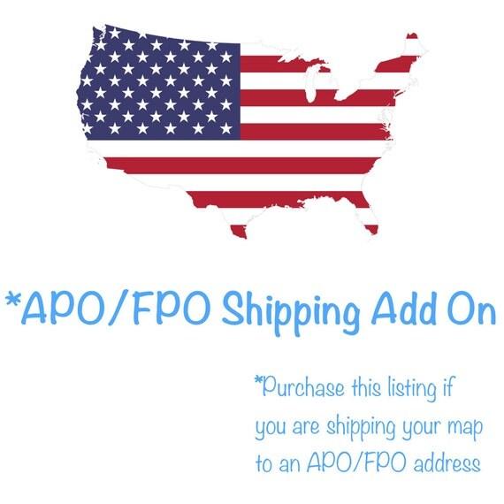 Ship To APO FPO DPO Addresses   Military Shipping P.