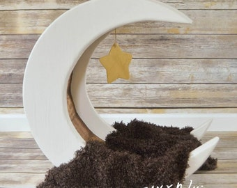MOON Baby Bed Photo Prop, Photography Prop, Moon Baby Bed, Photo Prop