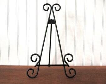 9 BLACK METAL EASEL Wire Tabletop Wedding Display