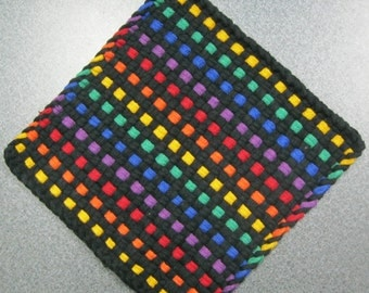 Rainbow of Lights Large Potholder