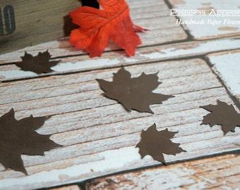 Metal Leaves 6 pieces