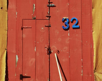 "Fine Art Photo - Title: ""Rustic doors 1"" - Nova Scotia, Eastern Canada, portrait, rustic, East Coast, Canadiana, atlantic"