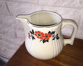 "Hall Vintage ""Poppy"" Pitcher-1940s"