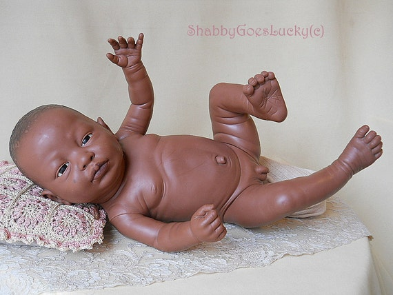 Berjusa Hospital baby 1995 anatomically correct black baby