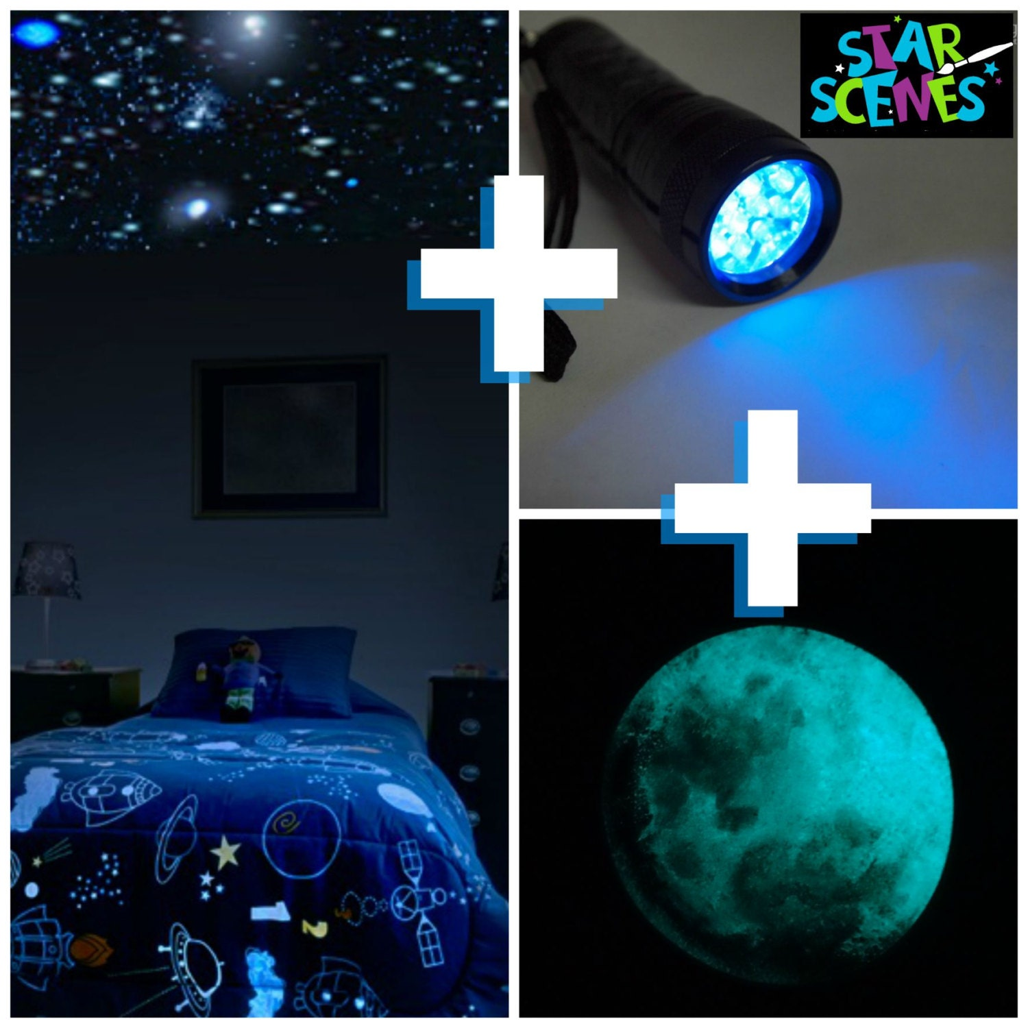 Bedroom ceiling lights stars -  Zoom