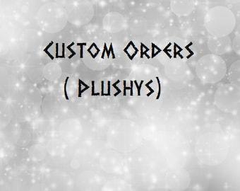 Custom Plushy