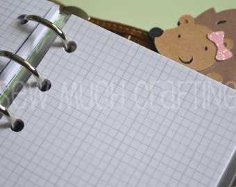 Printed Pocket Size SMALL Grid Paper