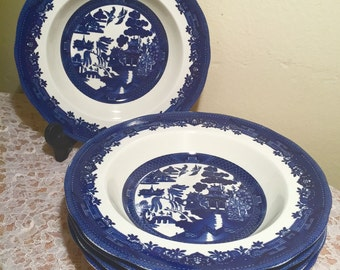 "Royal Traditions ""Blue Willow"" Salad Plates (set of 5)"