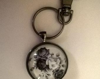 Roses Key Chain / Fob