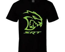 Hellcat Challenger SRT Green T Shirt