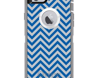 Custom OtterBox Defender Case for Apple iPhone 6 6S 7 8 PLUS X 10 - Monogram - University of Kentucky UK Wildcats Colors - Chevron