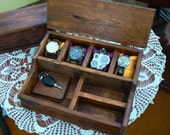 Watch box for men ,Organization Box, Men's Wallet and Watch box, watches and drawer, Christmas gift