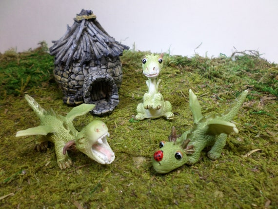 Mini Mighty Dragons Fairy Garden Dragon Miniature Gardening