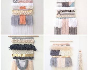 CUSTOM WEAVING // design your own weaving // free shipping in Australia