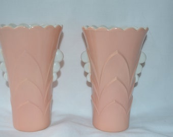 10 % OFF - Vintage Pair Of Anchor Hocking Vases