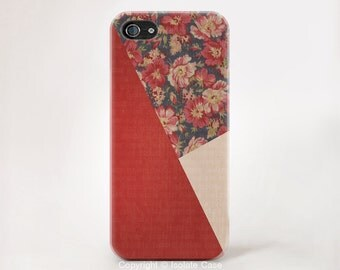 Floral iphone 6 case wood with floral iPhone 5s case flower iPhone 5c cover iPhone 4s case