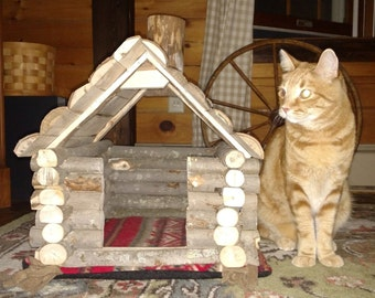 Log Cabin Cat House