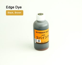 Acrylic Urethane Leather Edge Dye Dressing Ink Paint LeatherMob Kyoshin Elle Leathercraft Craft Tool