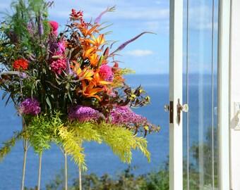 Fresh Wedding Flowers/ Bridal Bouquet. Example Only For Local Brides (Not for Sale). Farm/Barn Wedding. Shabby Chic Wedding. Rustic Wedding.