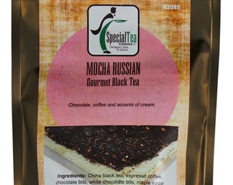 Mocha Russian Tea Black Tea, 20 Tea Bags