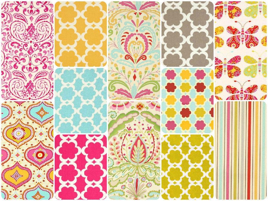 Kumari garden cotton fabric by dena designs free spirit for Dena designs tea garden fabric