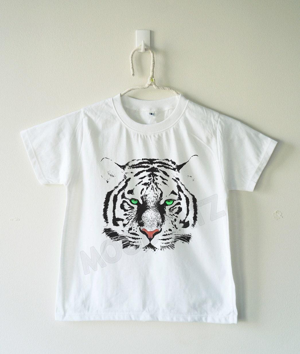 Cute Tiger shirt eyes tiger tshirt cool funny animal shirt hip Cute Siberian Tiger Shirt