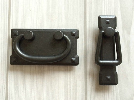 3 vintage style dresser pulls drawer pull - Drop pulls for cabinets ...