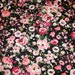"""Floral Ponte Di Roma Double Knit Polyester Spandex Lycra Stretch Medium Weight Pinks Reds Apparel Craft Fabric 58""""-60"""" Wide By The Yard"""