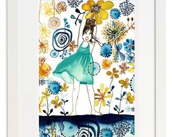 Summer Jasmin Art Print