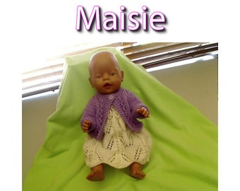Maisie To fit Baby Born 16 or 17 inch and similar size dolls