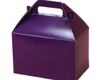 SALE! - Quality Gable Boxes 10 Count - Grape Purple (8x5x5)