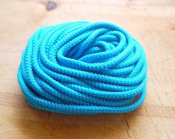 Petrol climbing cord,braided cord 5mm - 92cm/1yard