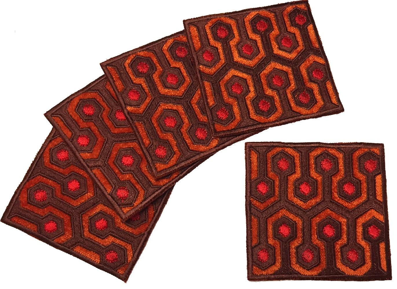 The Shining Carpet Mug Rug Coaster
