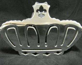 Fleur De Lis Crown Hitch Cover