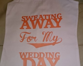 Wedding gym vests