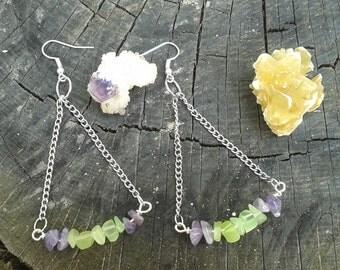 Assorted Handmade Gemstone Earrings