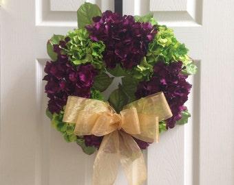 Floral Door Wreath