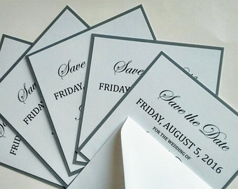 """Save the date card """"Jane"""""""