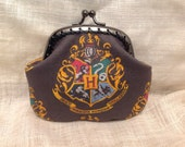 Hogwarts Crest Coin Purse