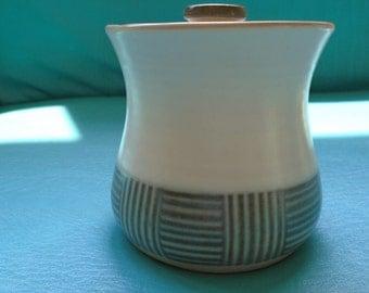 Norleans Stoneware Sugar Bowl!