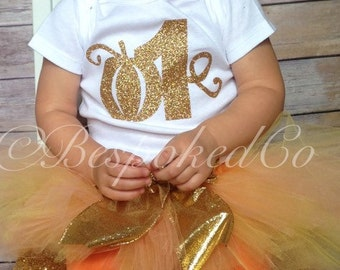 1st birthday outfit girl | 1st birthday outfit fall | Pumpkin patch birthday outfit | Fall first birthday outfit | Thanksgiving Birthday