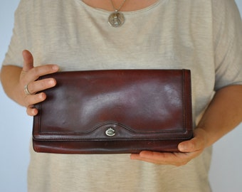 Vintage ESQUIRE leather clutch ...(138)